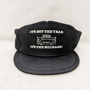 Vtg Not The Year, It's the Mileage Snapback Hat